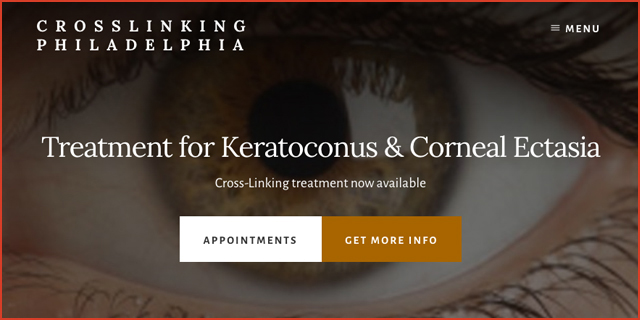 For the treatment of Kerataconus & Corneal Ectasia